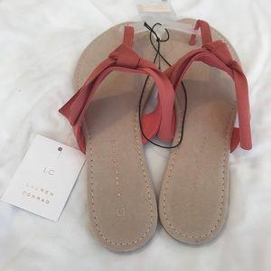 be9cf91d68da LC Lauren Conrad Shoes - LC Laura Conrad Floppy Knot Thong Sandals